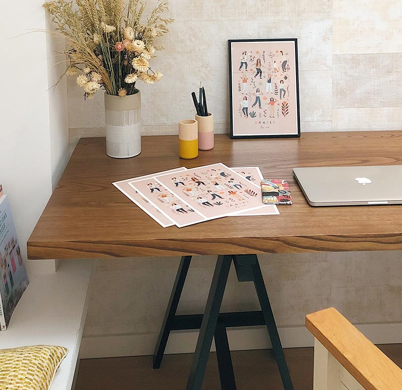 contact workspace design