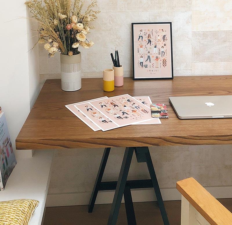 contact workspace design