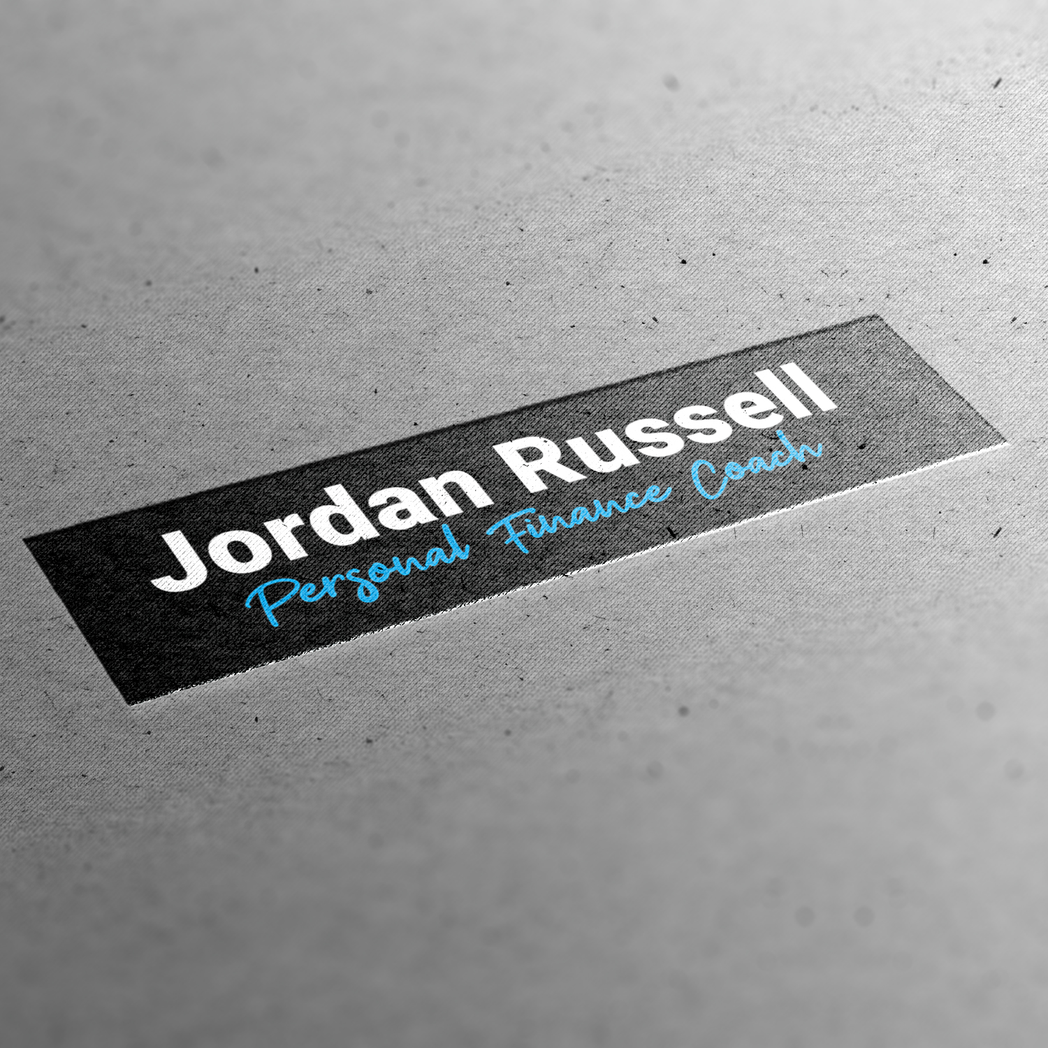Branding for Jordan Russell Personal Finance Coach